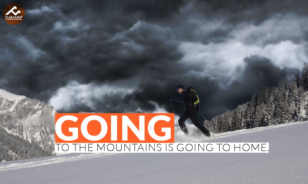 Going To The Mountains Is Going To Home