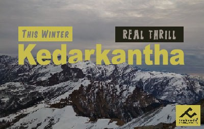 kedarkantha trek in winter