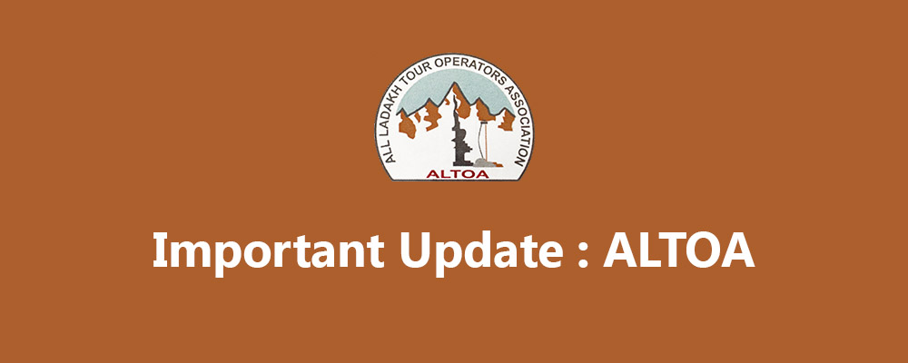 Important Update For Chadar Trek: District Administration and ALTOA