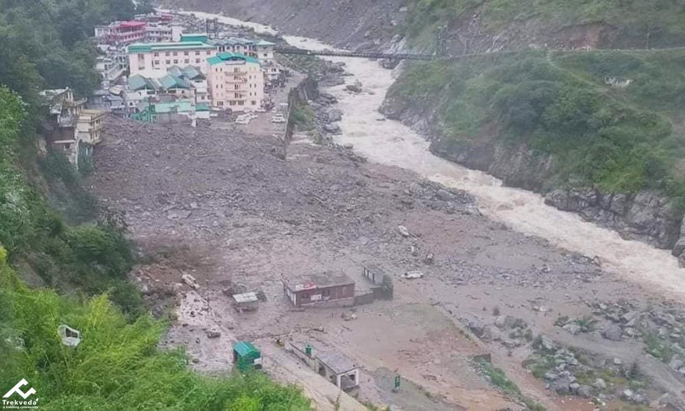 Valley of Flowers Trek Stopped Due to Cloudbrust in Govindghat