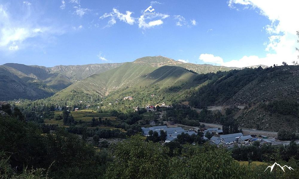 Karakoram and Pri Panjal Range