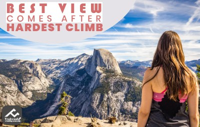 Best View Comes After Hardest Climb