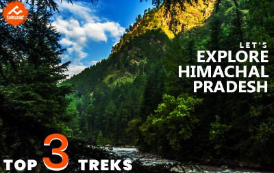 Top 3 treks in Himchal Pradesh