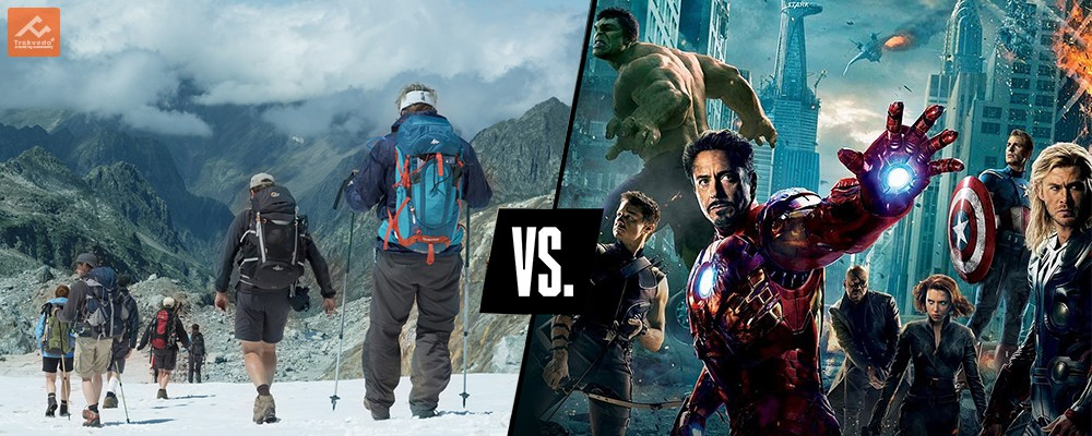Avenger Heros VS Trekking Warriors