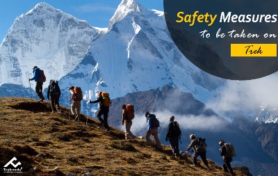 Safety Measures to be taken on a Trek