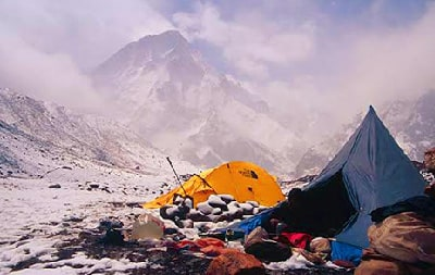 Bagini Glacier and Changabang Base Camp Trek